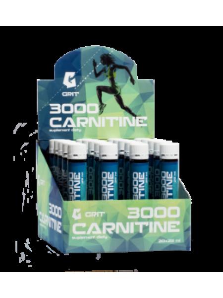 GRIT L-Carnitine, капсулы 3000 мг L-карнитин в порции