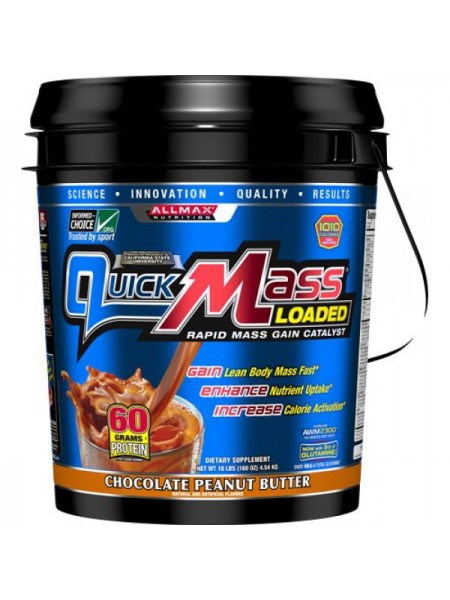 Allmax Nutrition QuickMass Loaded (4540 гр.)
