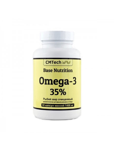 CMTech Base Nutrition Omega-3 35% 1400 мг (90 капс.)