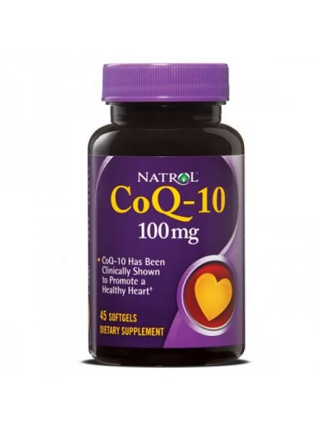 Natrol CoQ-10 100 мг Softgels (60 капс.)