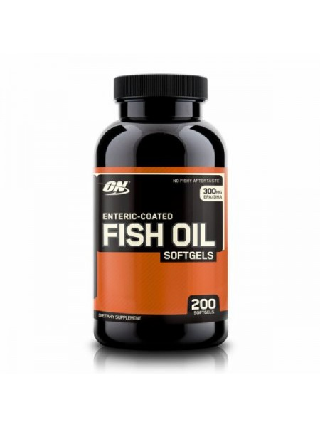 Optimum Nutrition Enteric Coated Fish Oil Softgels (200 капс.)