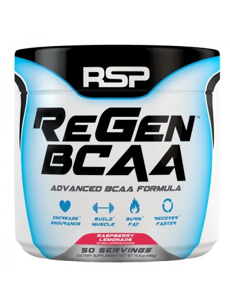 RSP Nutrition ReGen BCAA Powder (440 гр.)