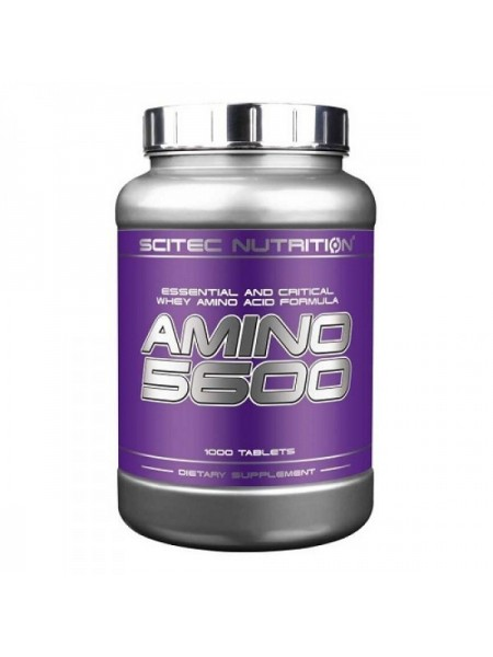 Scitec Nutrition Amino 5600 (1000 таб.)