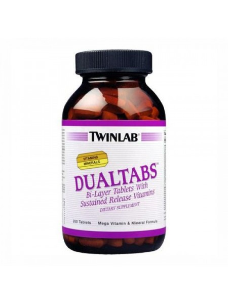Twinlab DualTabs (200 таб.)