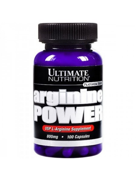 Ultimate Nutrition Arginine Power 800 mg (100 капс.)
