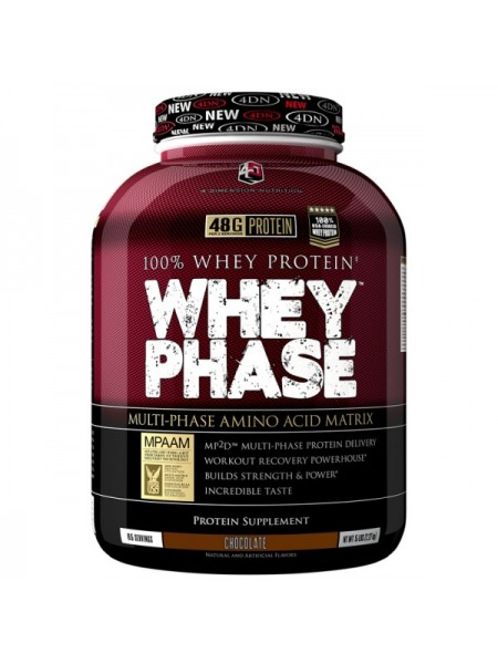 4 Dimension Nutrition Whey Phase (2270 гр.)
