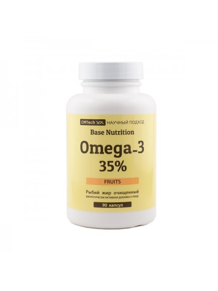 CMTech Base Nutrition Omega-3 35% Фруктовые (90 капс.)