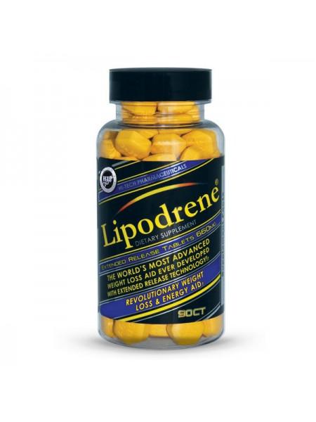 Hi-Tech Pharmaceuticals Lipodrene Ephedra Free (90 таб.)