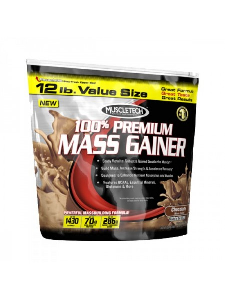 MuscleTech 100% Premium Mass Gainer (5400 гр.)