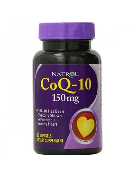 Natrol CoQ-10 150 mg (30 капс.)