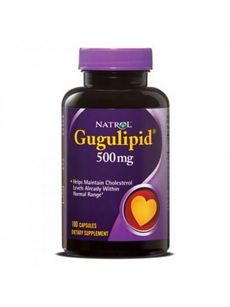 Natrol Gugulipid 500 мг (100 капс.)