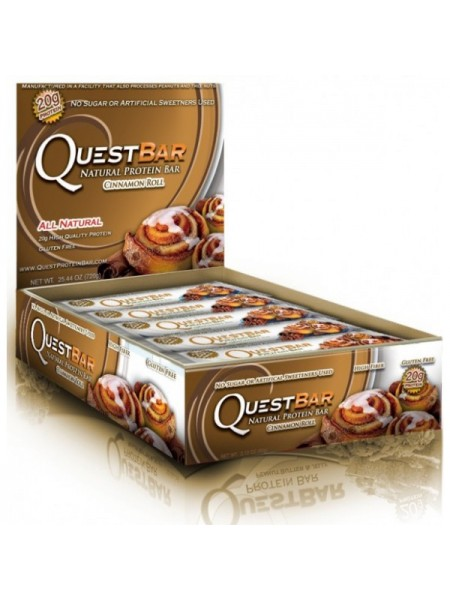 Quest Nutrition Quest Bar Natural 60 гр. (12 шт.)