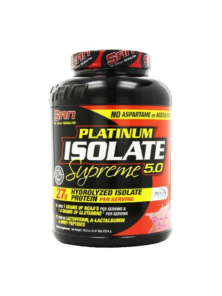 SAN Platinum Isolate Supreme 5.0 (2254 гр.)