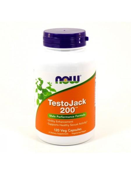Now Foods TestoJack 200 Veg Capsules (120 капс.)