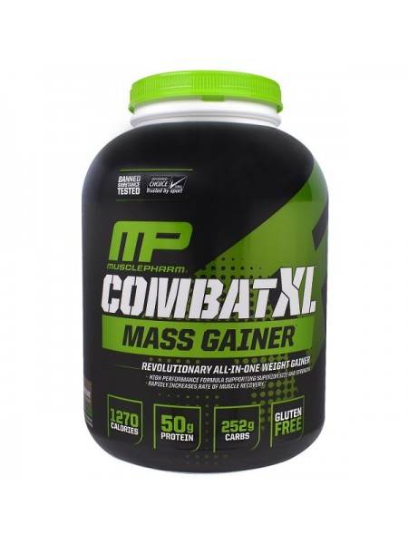 MusclePharm Combat XL Mass Gainer (2722 гр.)