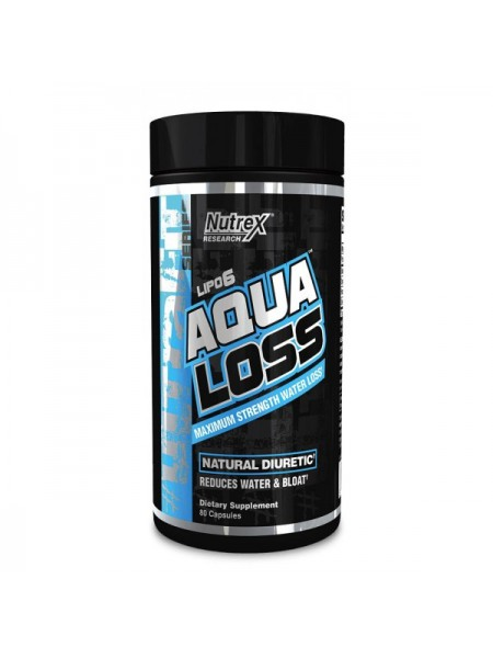 Nutrex Research Lipo 6 Aqua Loss (80 капс.)