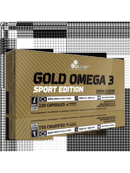 Olimp Gold Omega 3 Sport Edition (120 капс.)