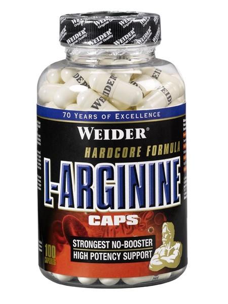 Weider L-Arginine Caps (200 капс.)