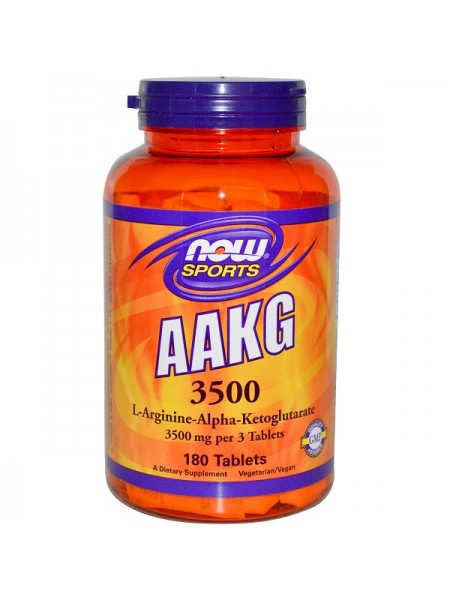 Now Sports AAKG 3500 (180 таб.)