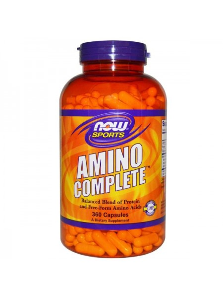 Now Sports Amino Complete Capsules (360 капс.)