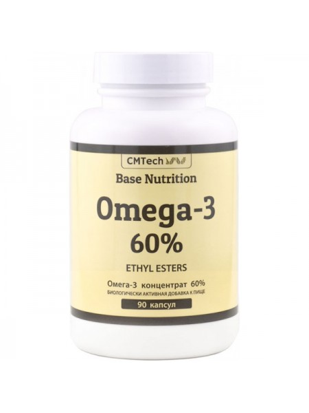 CMTech Base Nutrition Omega-3 60% Ethyl Esters (90 капс.)