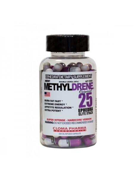 Cloma Pharma Methyldrene 25 Ephedra Elite Stack (100 капс.)