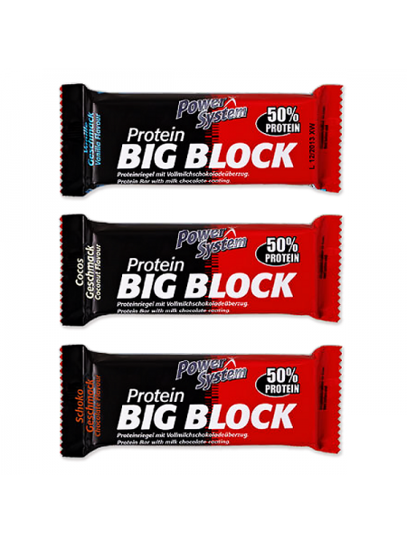 Power System Protein Big Block 100 гр. (16 шт.)