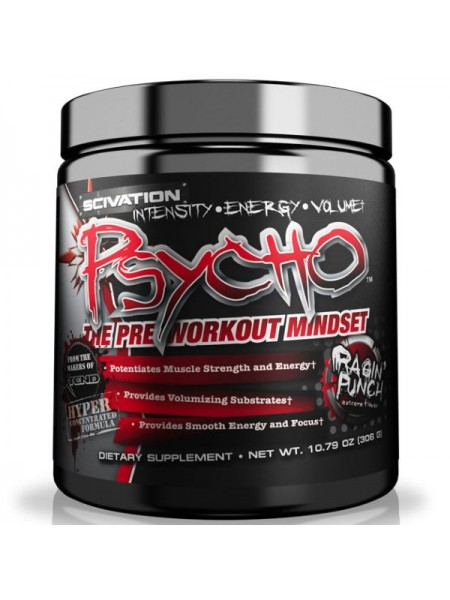 Scivation Psycho (306 гр.)