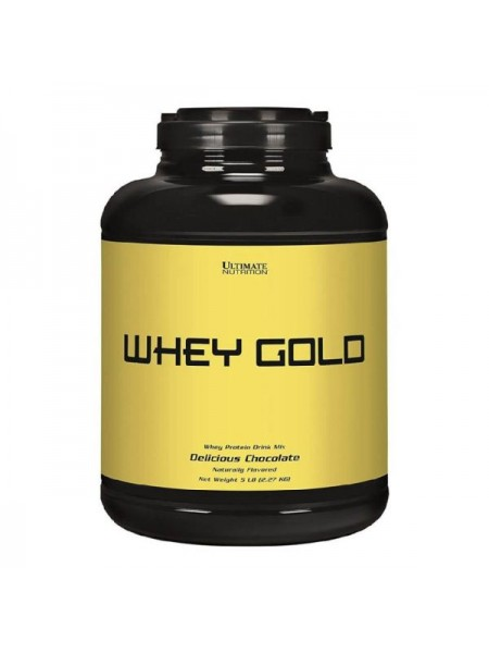 Ultimate Nutrition Whey Gold (2270 гр.)