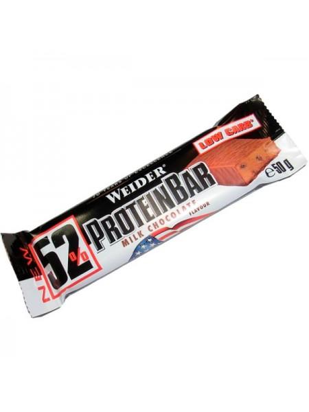 Weider 52% Protein Bar 50 гр. (24 шт.)
