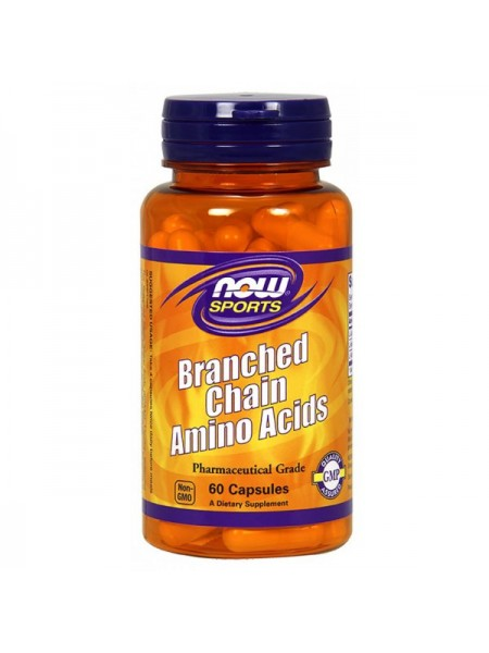 Now Sports Branched Chain Amino Acids Capsules (240 капс.)