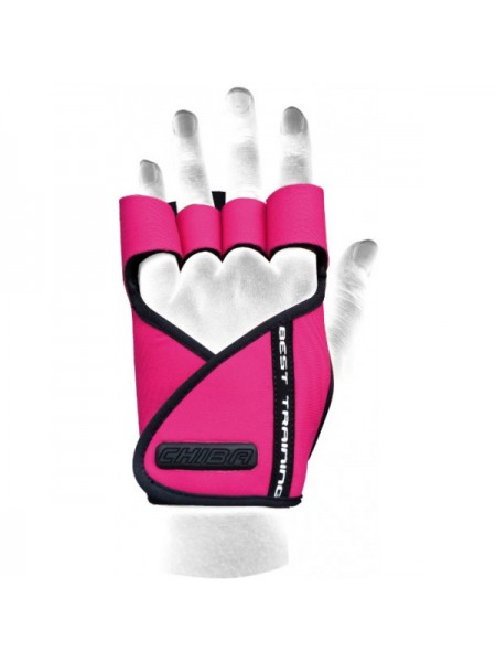 Chiba Lady Motivation Glove Розовый-чёрный (40936)