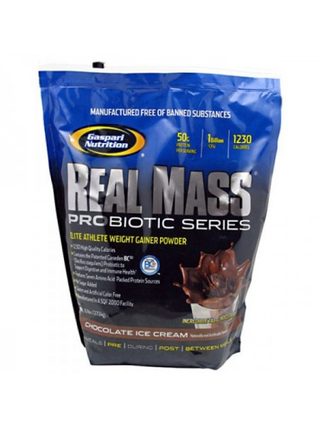 Gaspari Real Mass Probiotic Series (2724 гр.)