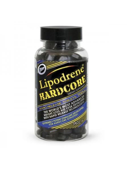 Hi-Tech Pharmaceuticals Lipodrene Hardcore Ephedra Free (90 таб.)