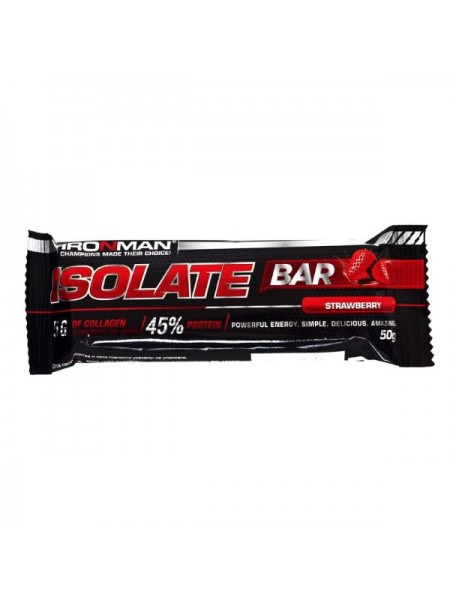 Ironman Isolate Bar 50 гр. (24 шт.)