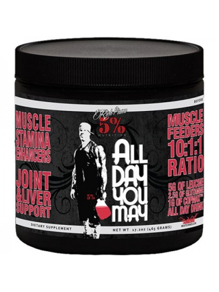 Rich Piana 5% Nutrition ALLDAYYOUMAY (465 гр.)