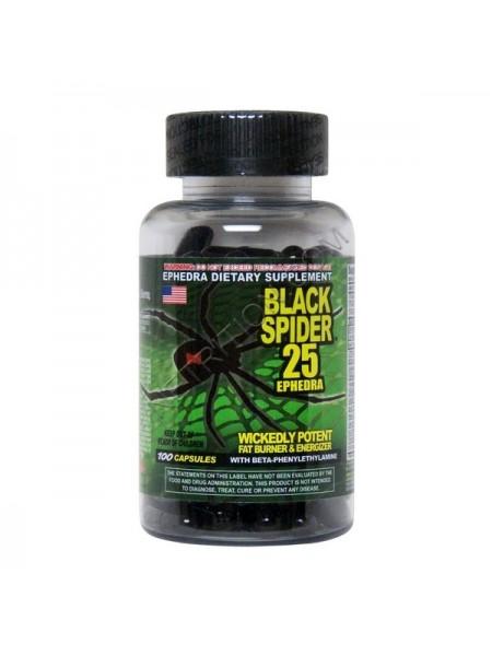 Cloma Pharma Black Spider 25 Ephedra (100 капс.)
