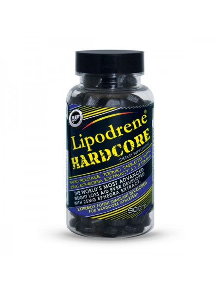 Hi-Tech Pharmaceuticals Lipodrene Hardcore With 25 mg Ephedra (90 таб.)