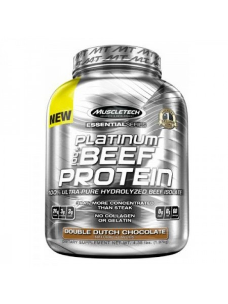 MuscleTech Platinum 100% Beef Protein (1800 гр.)