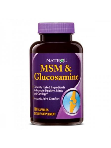 Natrol MSM Glucosamine (360 капс.)
