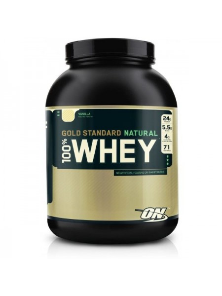 Optimum Nutrition 100% Whey Gold Standard Natural (2180 гр.)