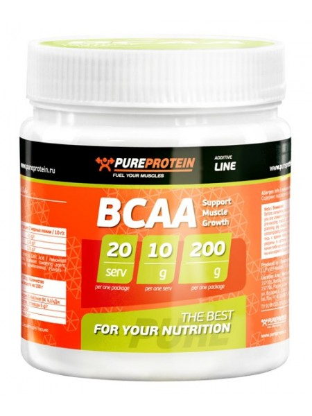 PureProtein Additive Line BCAA (200 гр.)
