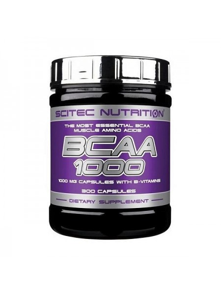Scitec Nutrition BCAA 1000 (300 капс.)