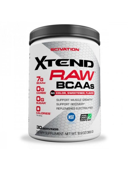 Scivation Xtend BCAAs RAW (366 гр.)