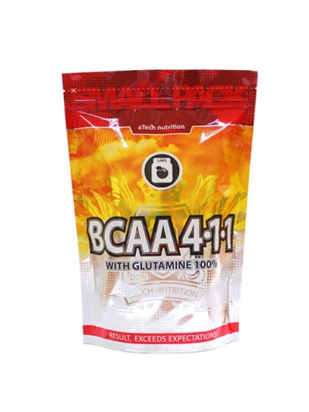 Atech Nutrition BCAA 4:1:1 with Glutamine 100% (1000 гр.)