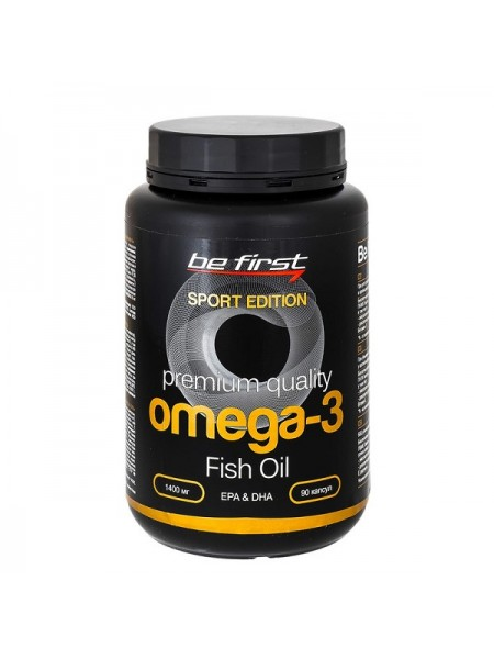 Be First Omega-3 Sport Edition 1400 мг (180 капс.)
