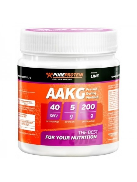 PureProtein Additive Line AAKG (200 гр.)