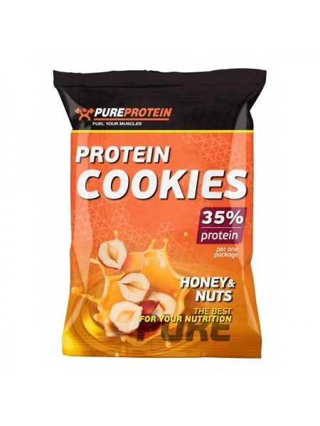 PureProtein Protein Cookies 35% 2 x 40 гр. (12 шт.)