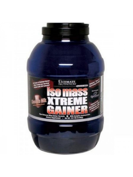 Ultimate Nutrition ISO Mass Xtreme Gainer (4590 гр.)
