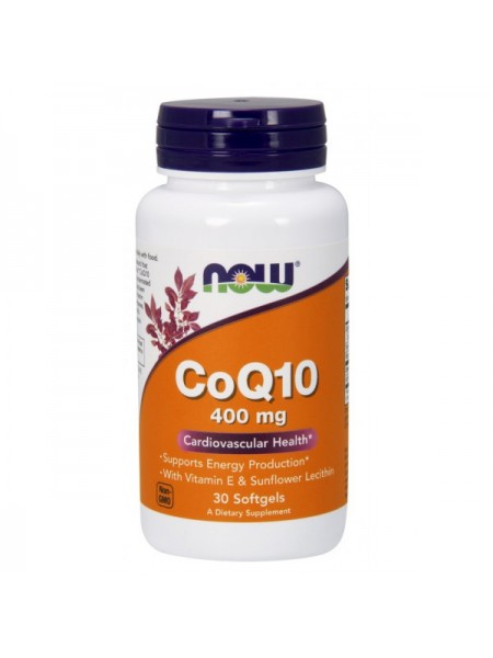 Now Foods CoQ10 400 mg Softgels (60 капс.)
